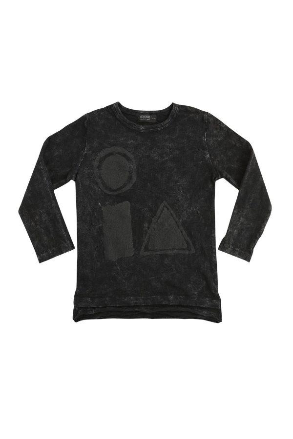 arty - geometric t-shirt   Monokido