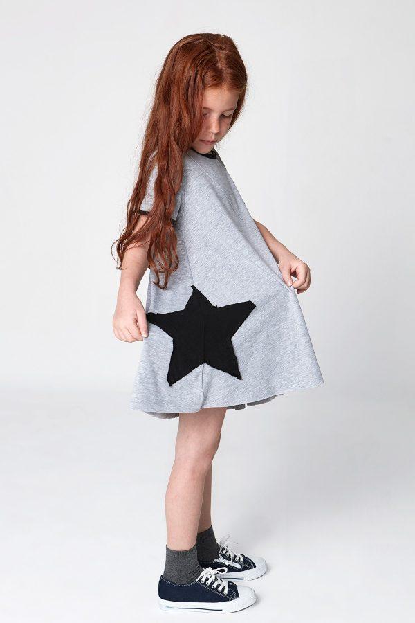 stardust - yamalı elbise-0