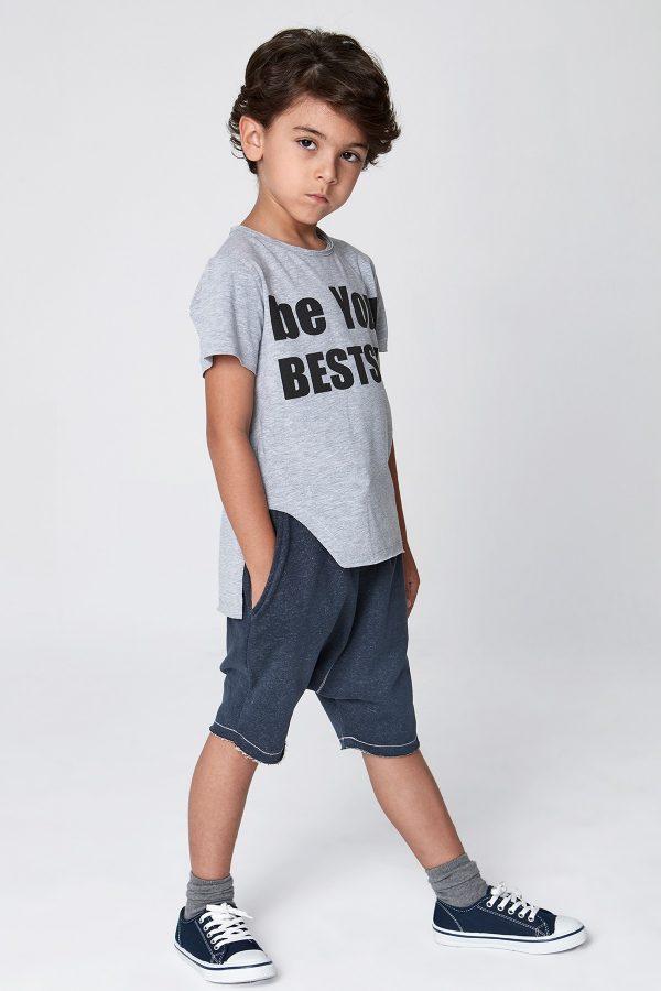 be your bestself tshirt - gri-0