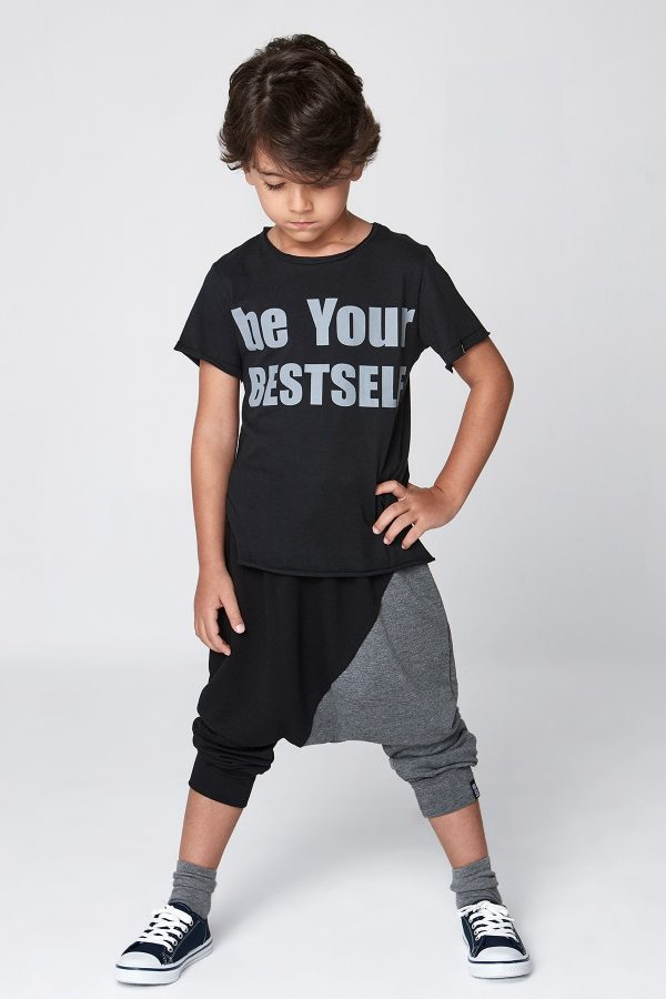 be your bestself tshirt - siyah-0